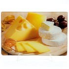 Доска разделочная стеклянная МВ 23300-5 Сыр