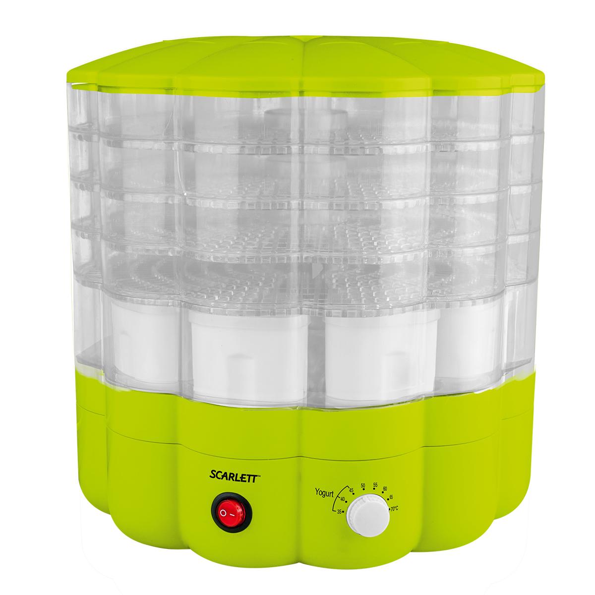 Сушка для продуктов SCARLETT SC FD-421001 зеленый
