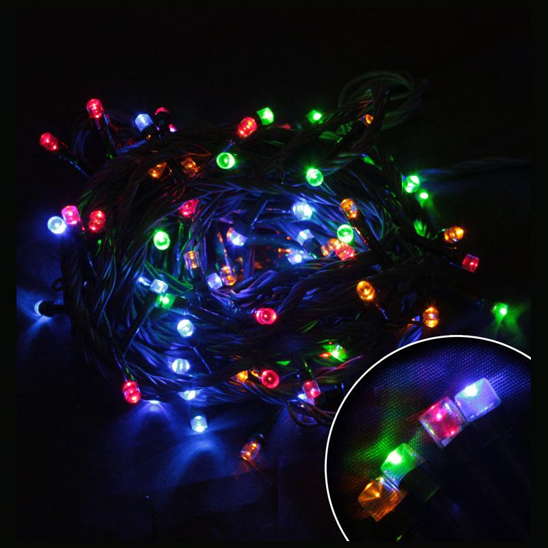 101520 Электрогирлянда светодиодная LED100-5-MC