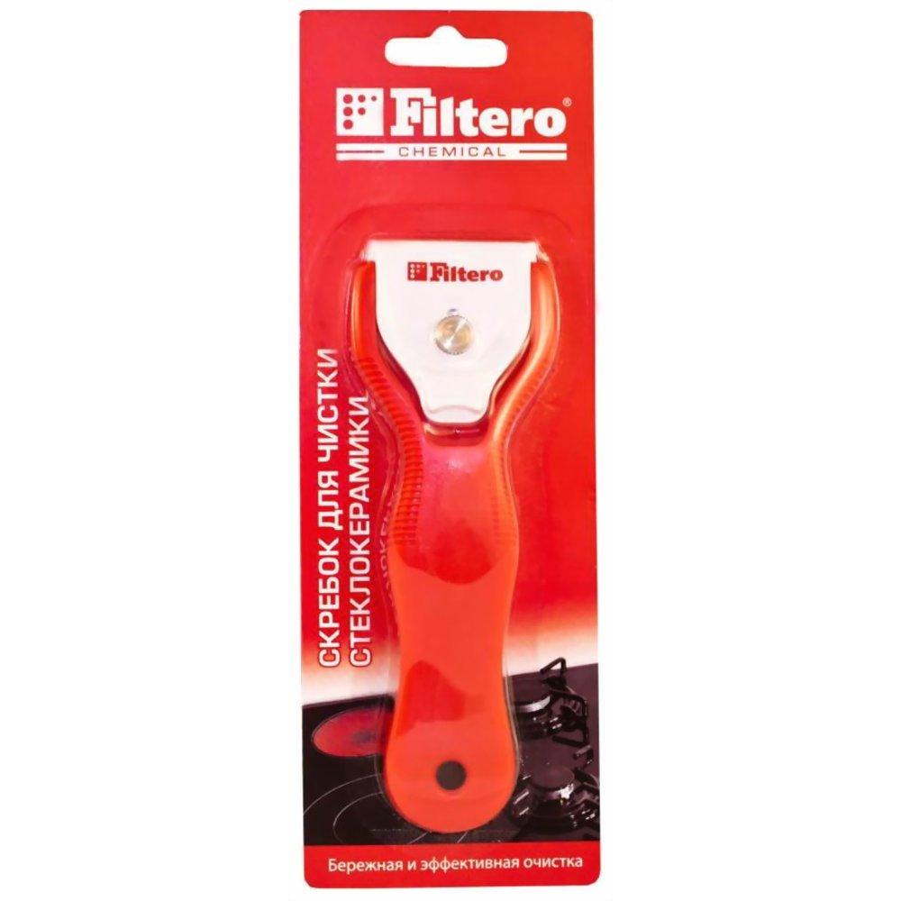 Скребок для чистки стеклокерамики Filtero 203