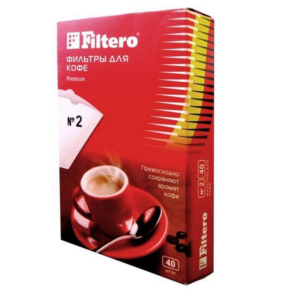 №2/40 фильтры для кофе Filtero