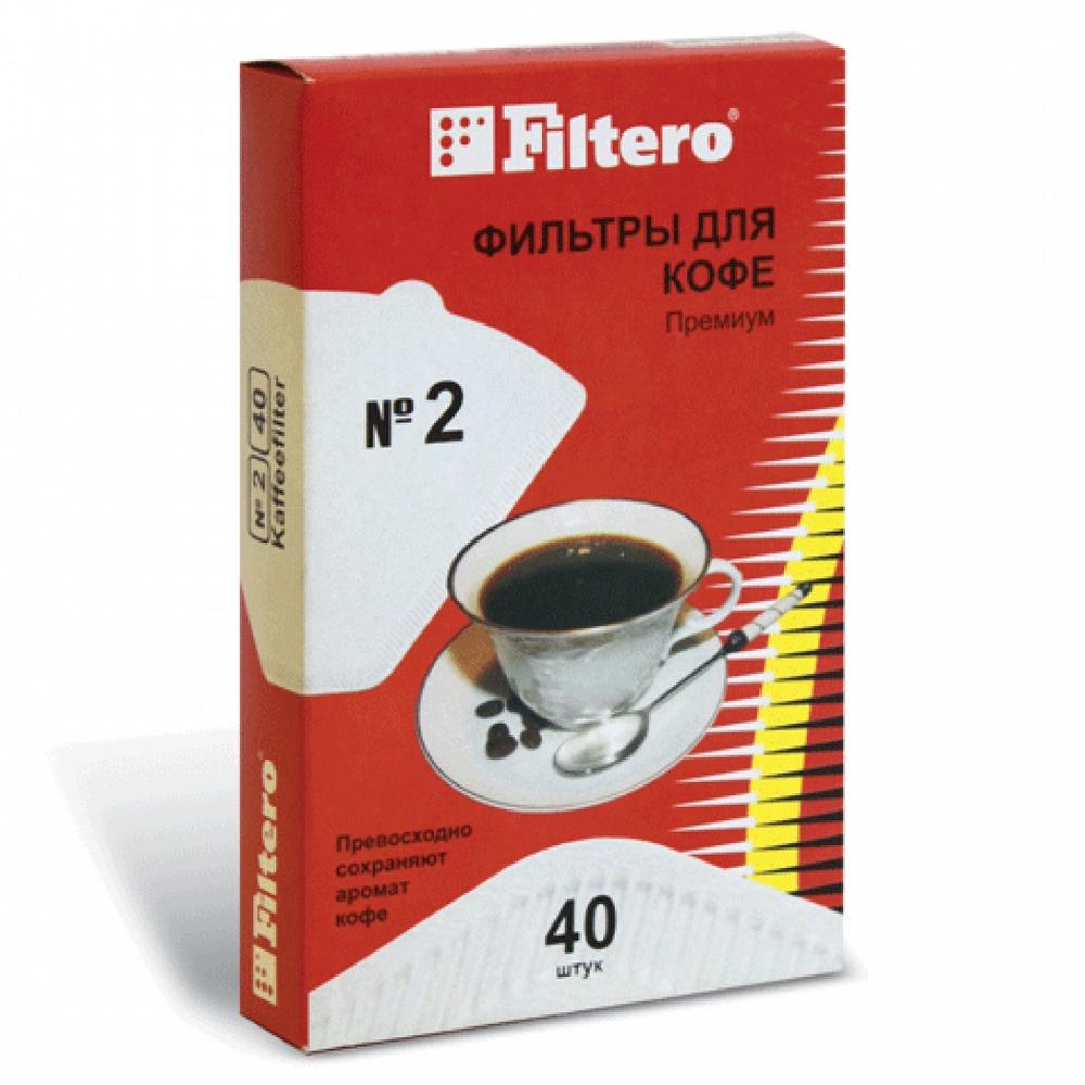 №4/40 фильтры для кофе Filtero