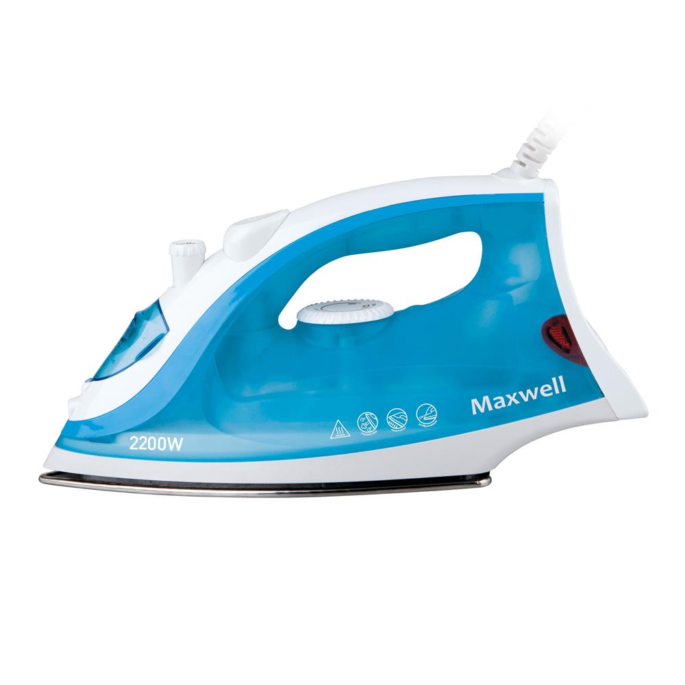 Утюг MAXWELL MW-3046 синий