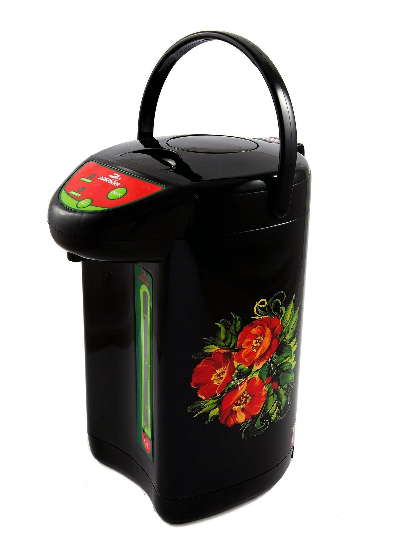 Термопот/ Термос-чайник (термопот) Добрыня DO 485 маки