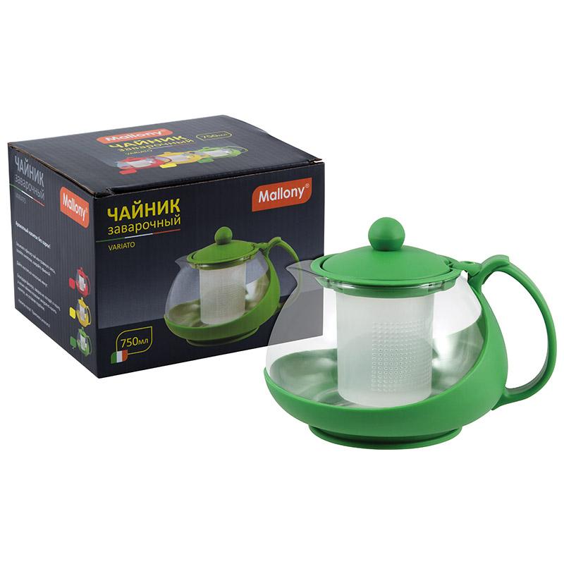 910105 Чайник заварочный Mallony PTP-20-750ML