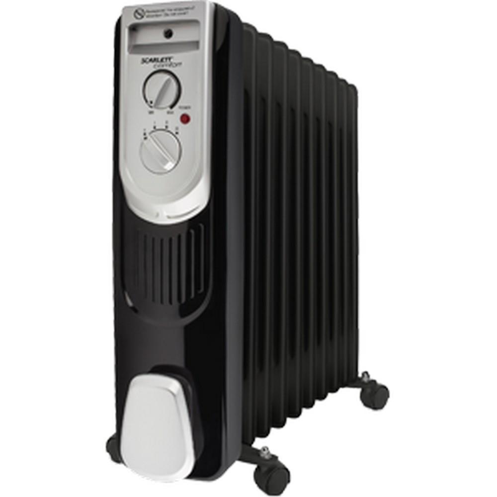 Радиатор масл.SCARLETT SC-OH 67 B03-9 черный