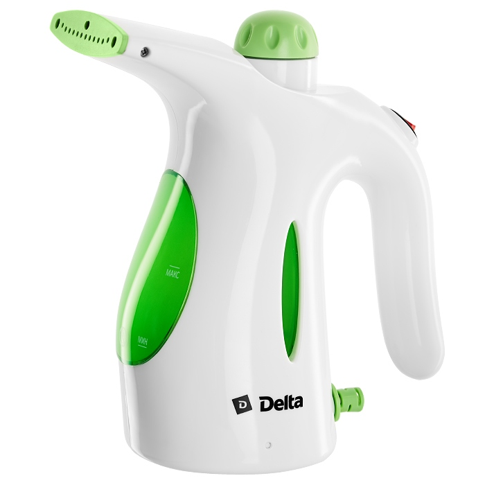 Отпариватель DELTA DL-655P белый с зеленым