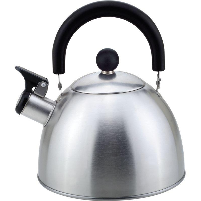 985605 Чайник металлический со свистком Mallony MAL-039-MP