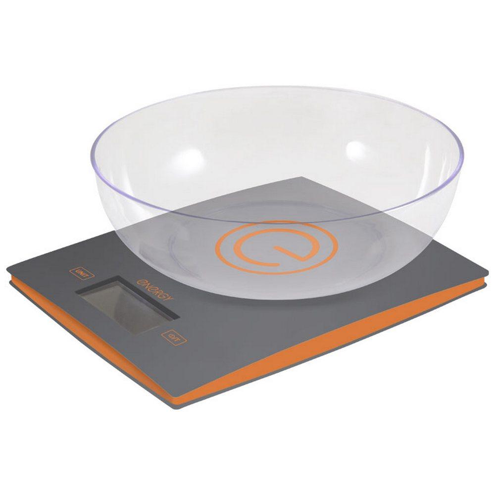 Весы кухонные электронные Energy EN-424 серый