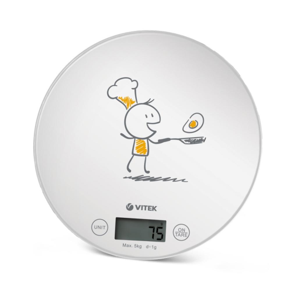 Весы кухонные VITEK VT-8018 белый