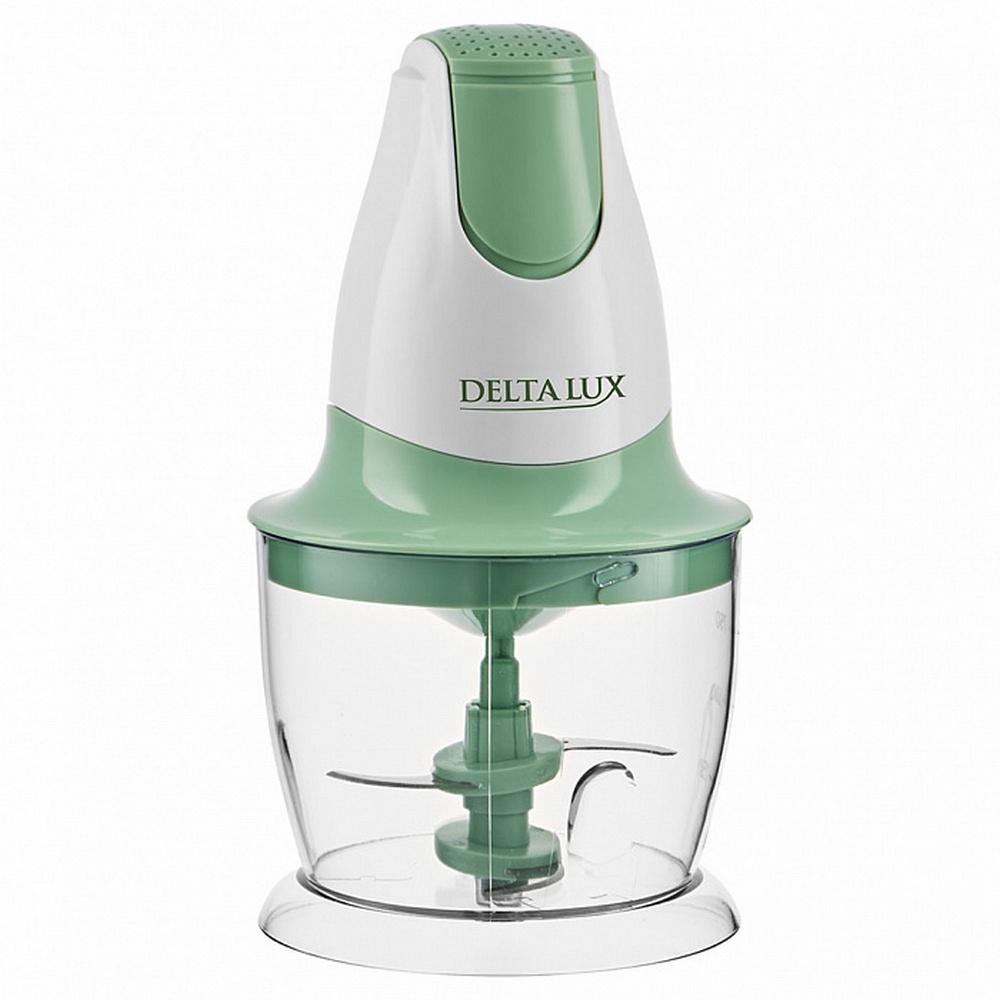 Измельчитель DELTA LUX DL-7417 белый с зеленым