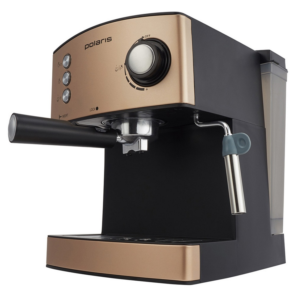 Кофеварка POLARIS PCM 1527E Adore Crema эспрессо шампань