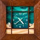 Часы настенные САЛЮТ ДСЗ-4АС28-124 МОРСКОЕ ДНО