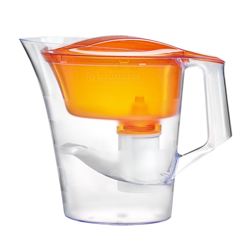 """Фильтр очистки воды """"Барьер -Твист""""(оранжевый)"""