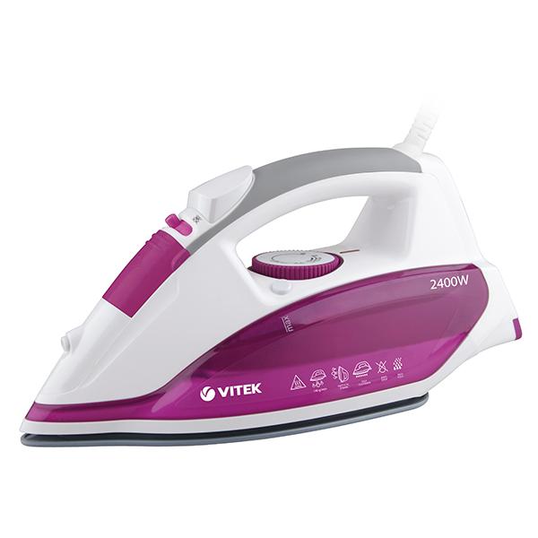 Утюг VITEK VT-1262 розовый