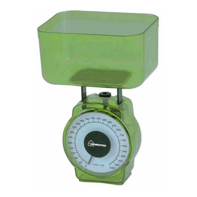 Весы кухонные HOMESTAR HS-3004M зеленый