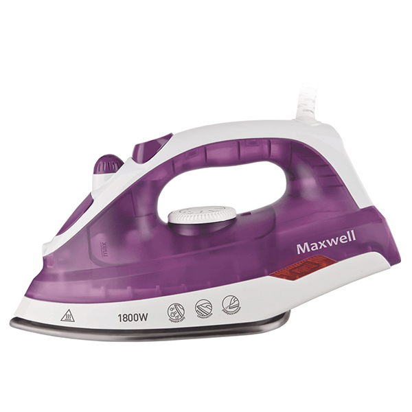 Утюг MAXWELL MW-3042 фиолетовый