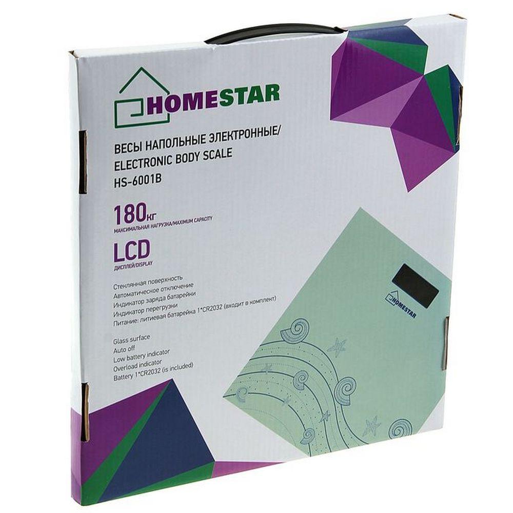 Весы напольные HOMESTAR HS-6001B