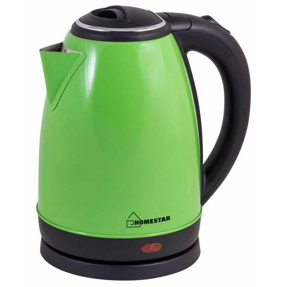 Чайник HOMESTAR HS-1010 стальной, зеленый
