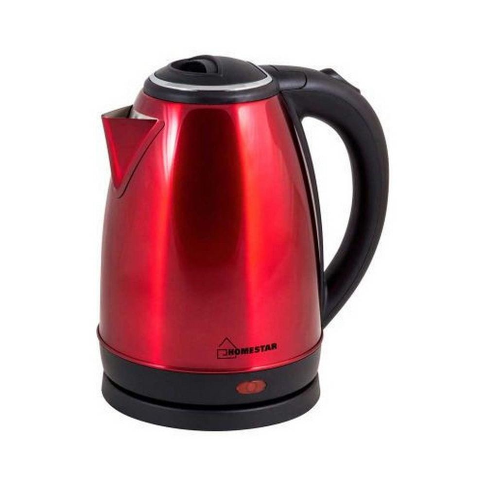 Чайник HOMESTAR HS-1010 стальной, красный