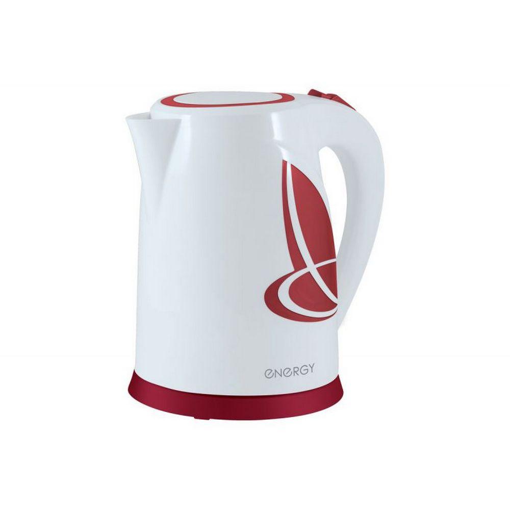 Чайник Energy E-211 бело-красный
