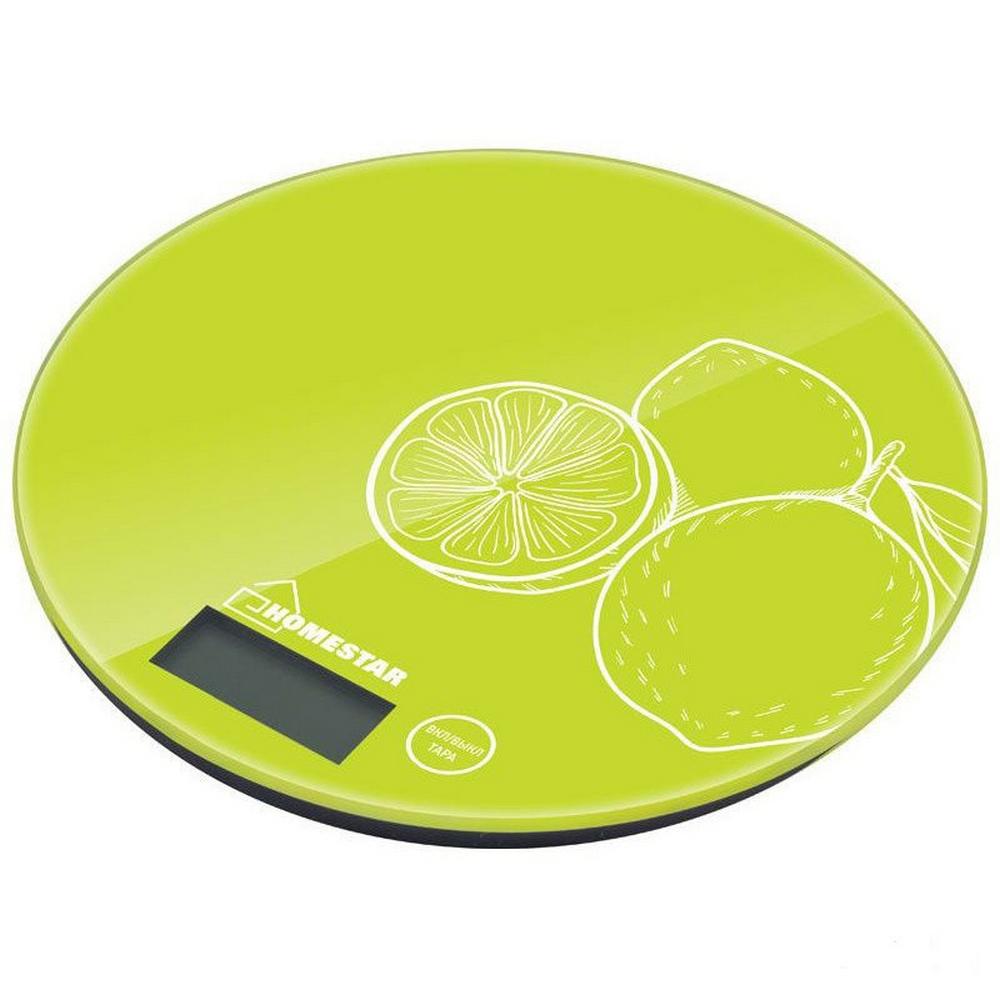 Весы кухонные HOMESTAR HS-3007S лайм