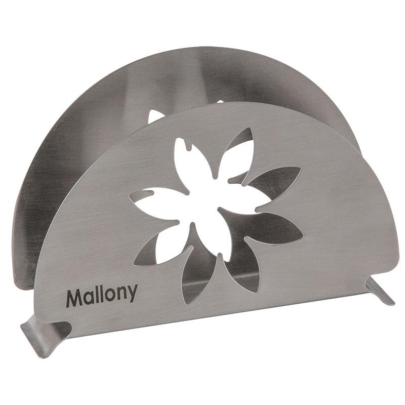 003059 Держатель для салфеток из нерж.стали Mallony FIORE