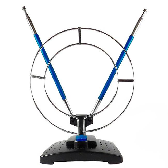 Антенна комнатная ДМВ+МВ с кольцом Эфир SE-910