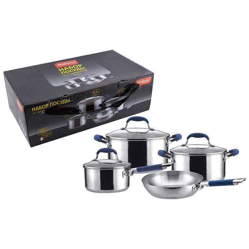 981024 Набор посуды Mallony PKS7-03 7 предметов