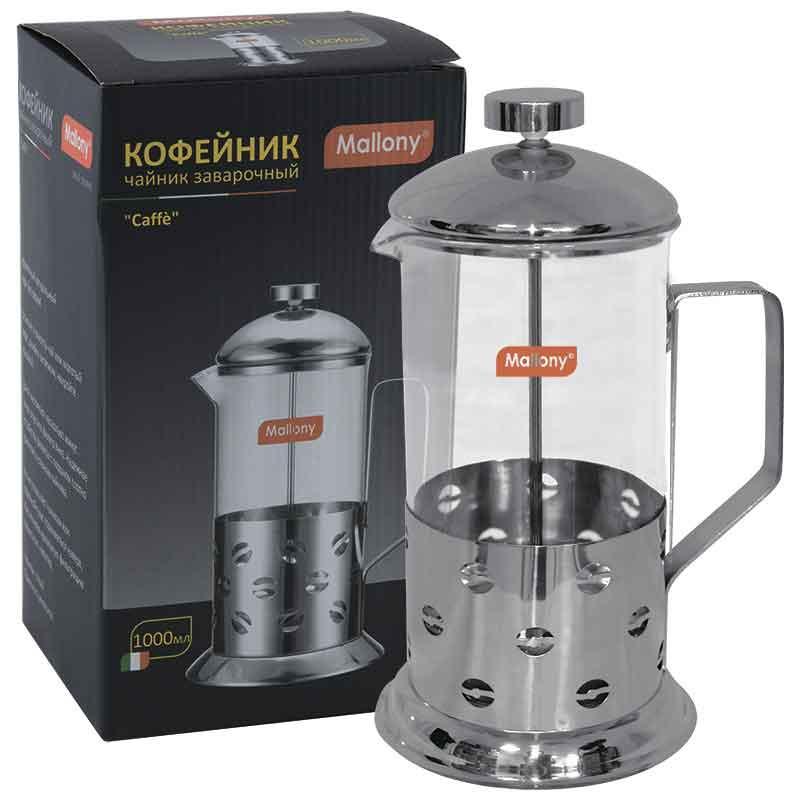 950081 Чайник/кофейник (кофе-пресс) Mallony B535-1000ML