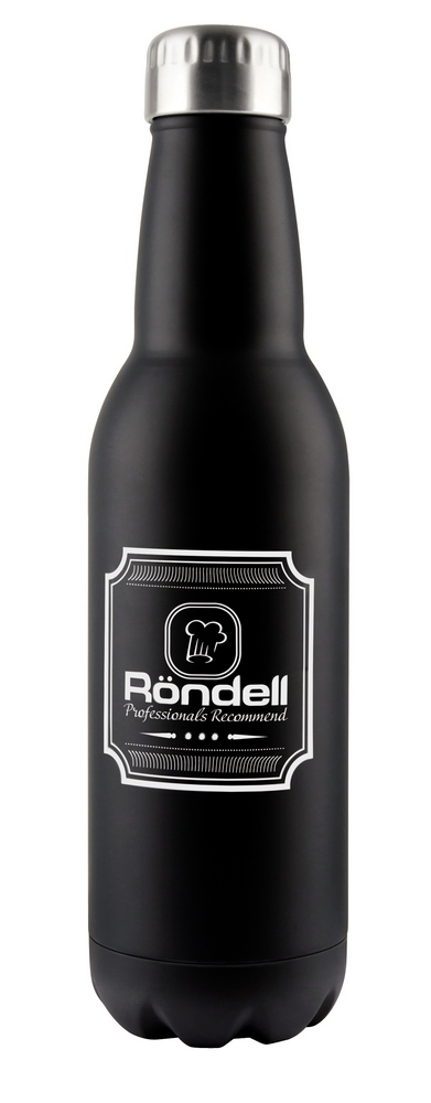 Термос RONDELL RDS-425 Bottle Black (0.75л)