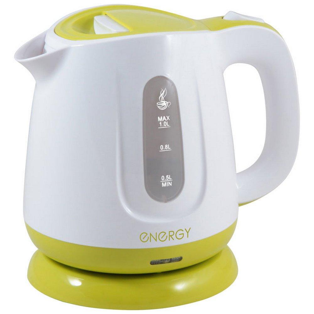 Чайник Energy E-234 бело-зеленый