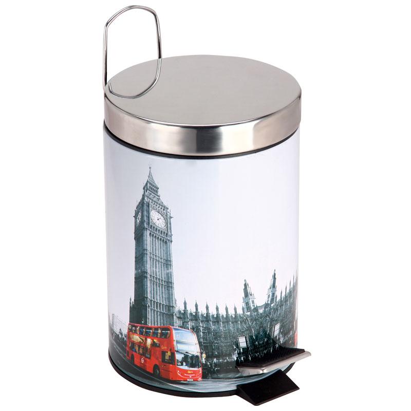 """310446 Ведро для мусора круглое DB-21 """"Лондон"""""""
