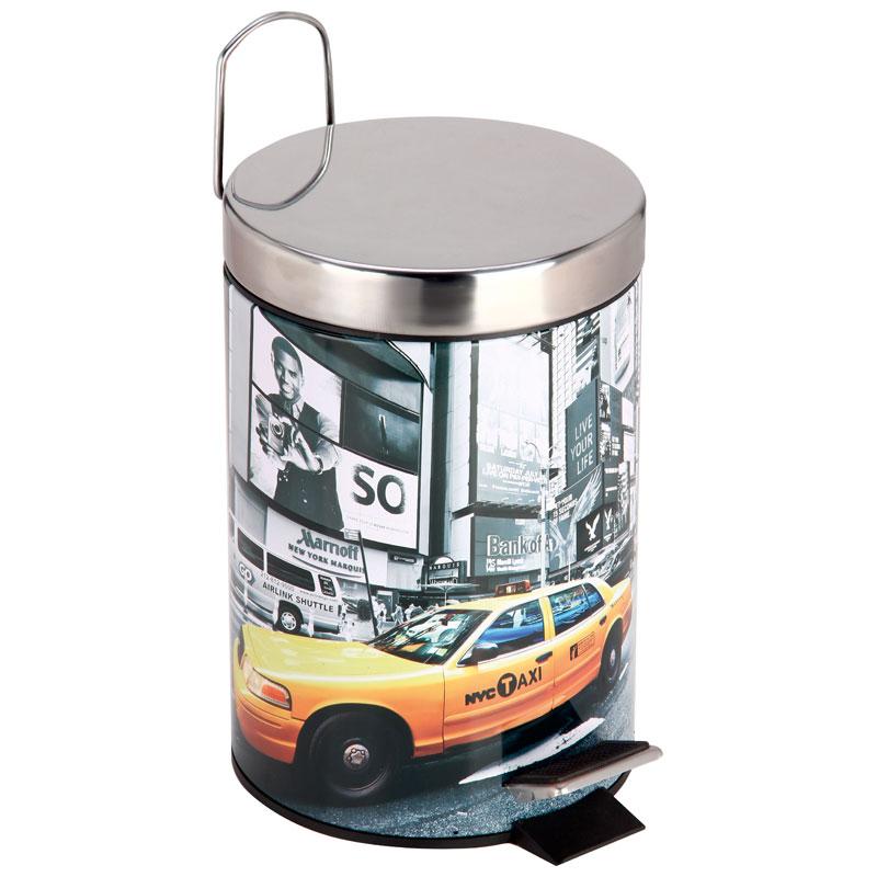 """310448 Ведро для мусора круглое DB-23 """"Нью-Йорк"""""""