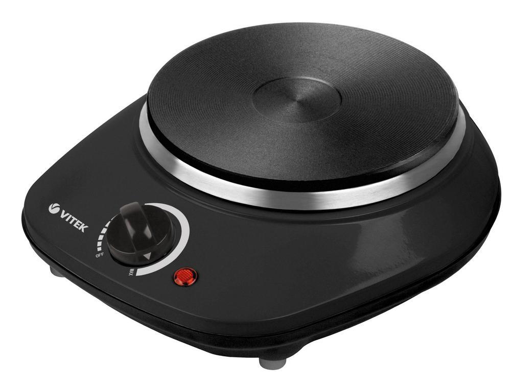 Плитка электрическая VITEK VT-3701 черный
