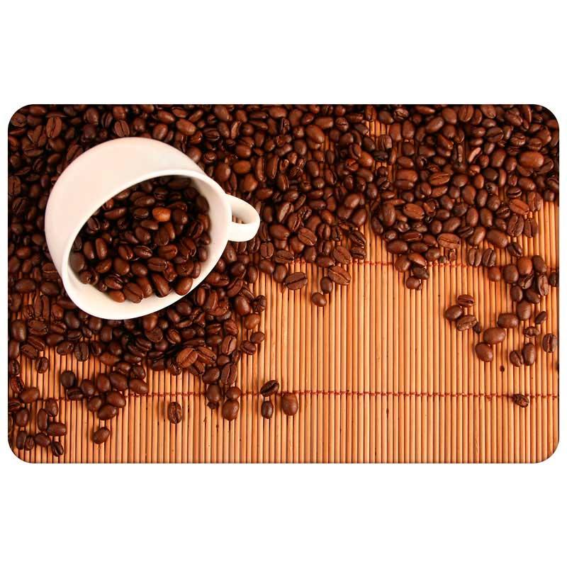 """312319 Салфетка сервировочная PPM-01-CS """"Зерна кофе"""" """"Рыжий кот"""""""