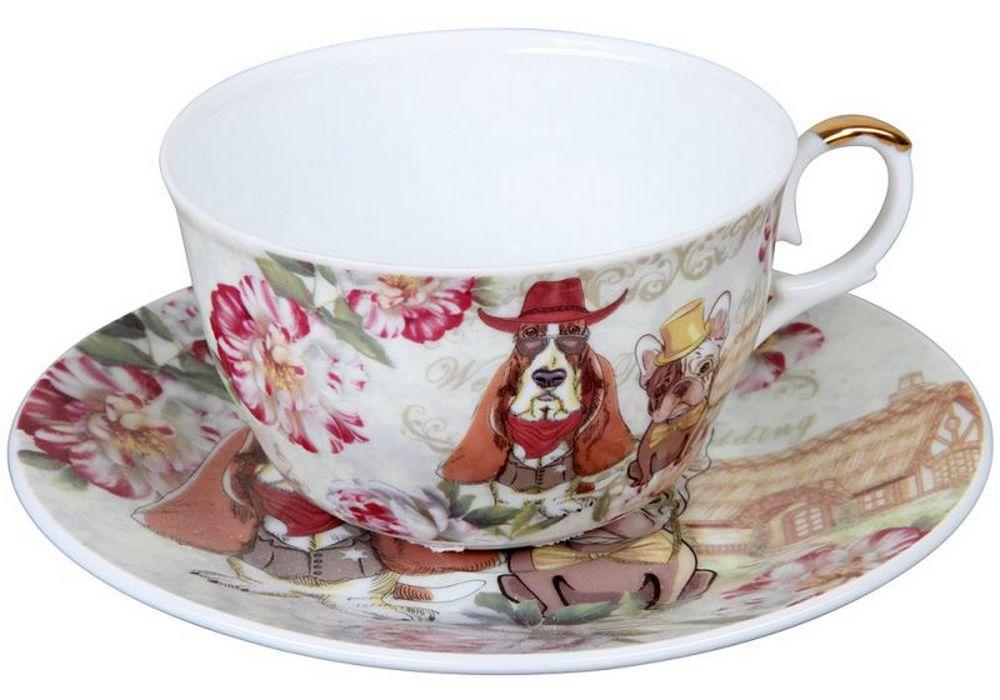 Чайная пара ROSENBERG RCE-255003-Dog