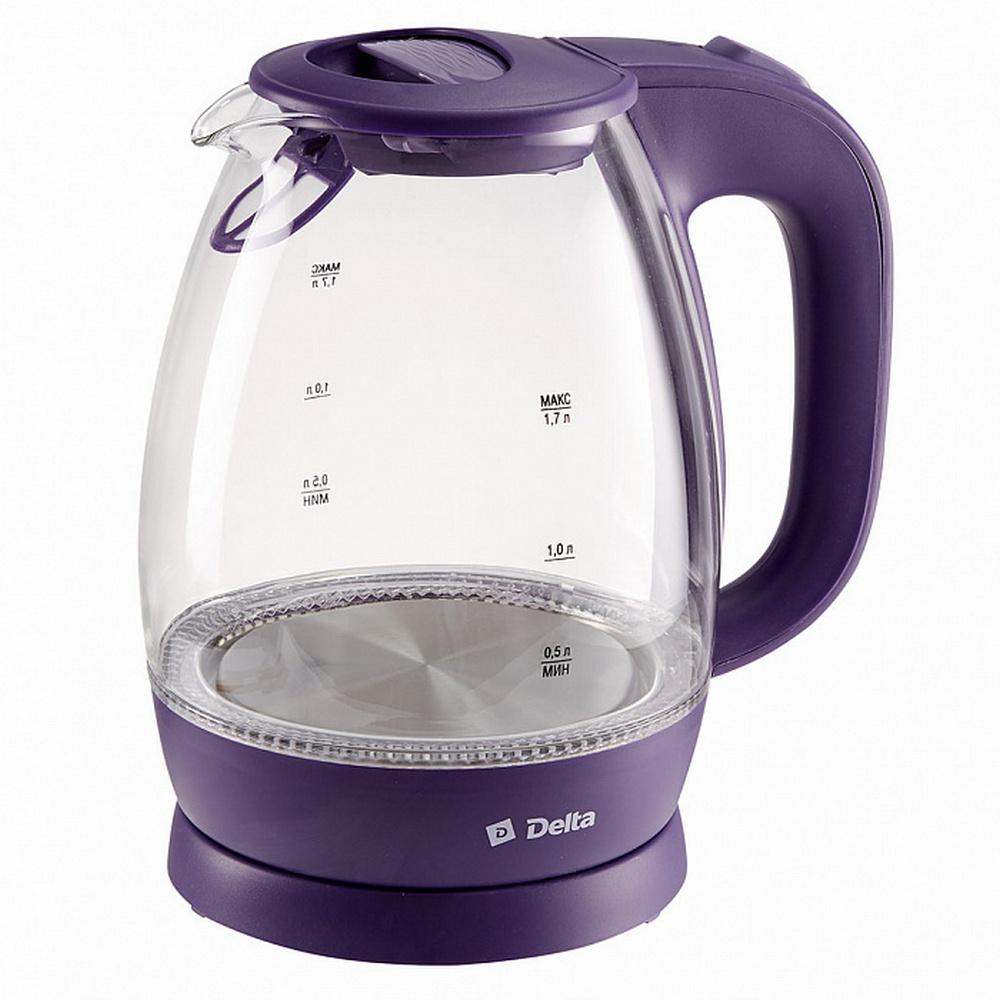Чайник DELTA DL-1203 фиолетовый