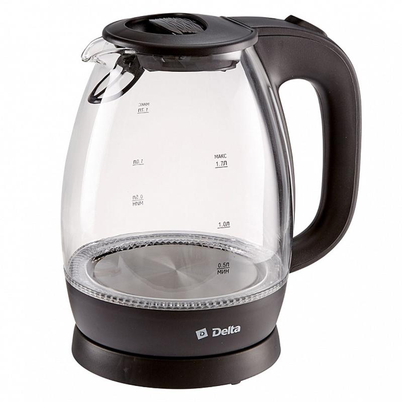 Чайник DELTA DL-1203 черный