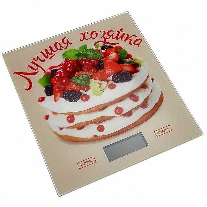 """Весы кухонные ВАСИЛИСА ВА-006 """"Лучшая хозяйка"""""""