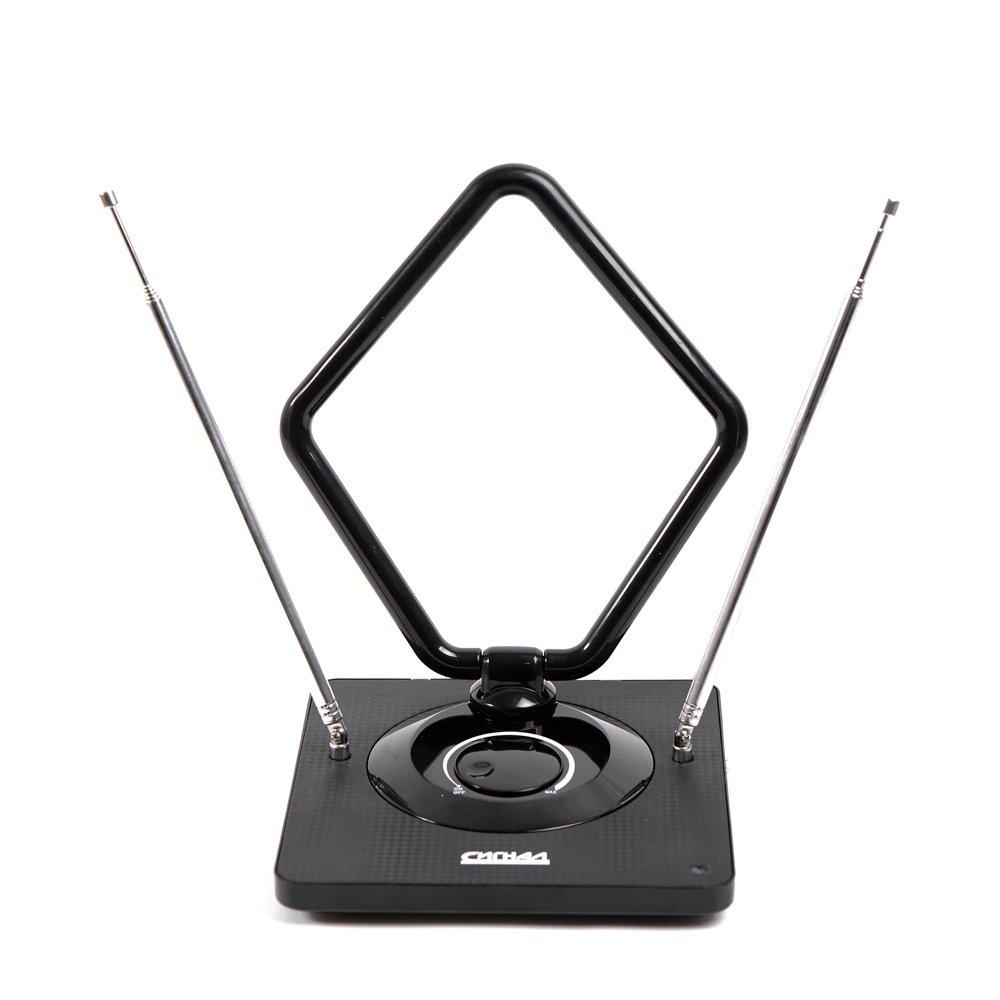 Антенна комнатная DVB-T и ДМВ+МВ активная Сигнал SAI 975