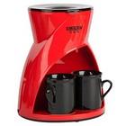 Кофеварка DELTA LUX DL-8131 красный