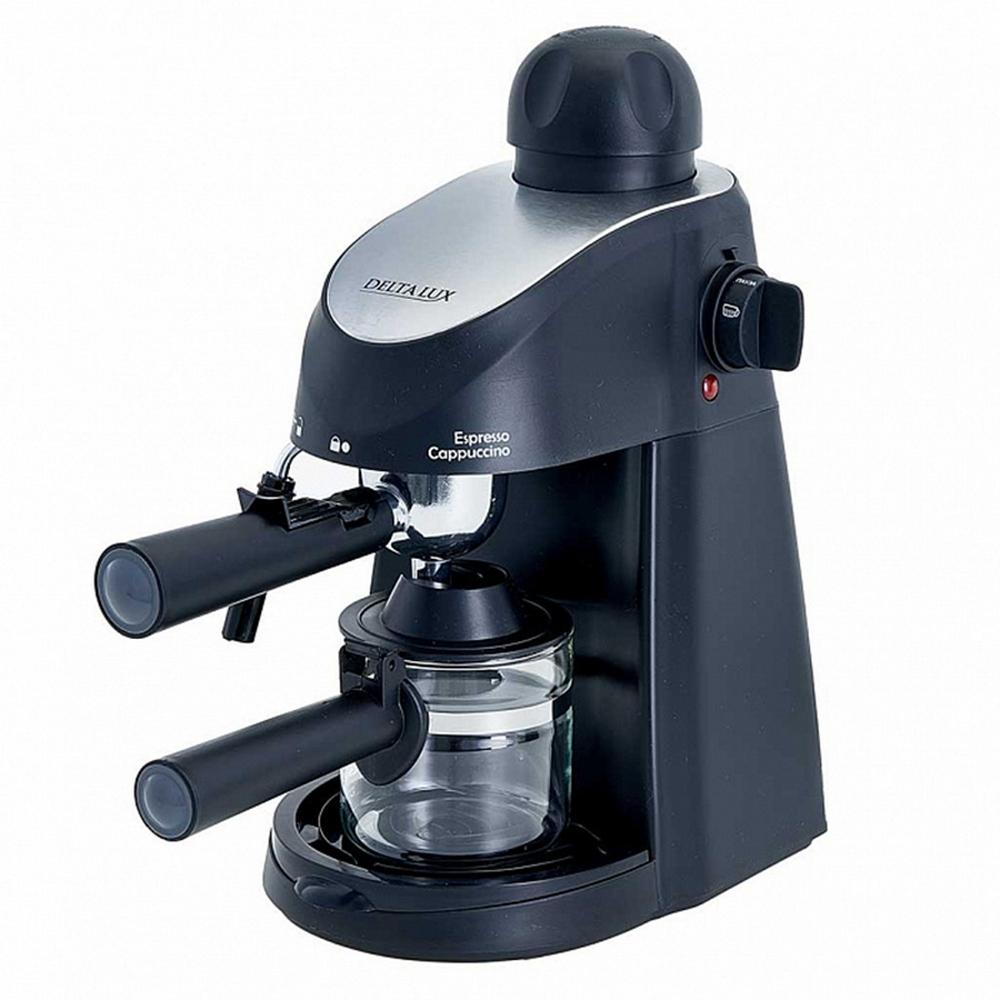 Кофеварка DELTA LUX DL-8150K черный