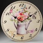 """Часы настенные C26-050/8 """"Цветочная гармония"""""""