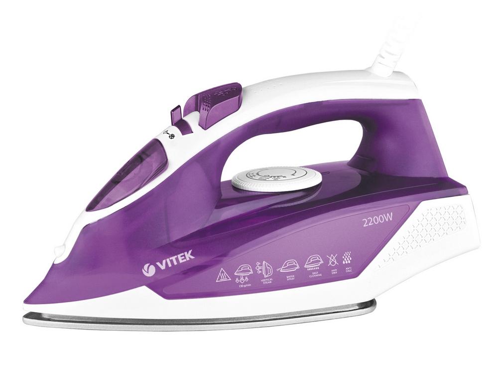 Утюг VITEK VT-8308 фиолетовый