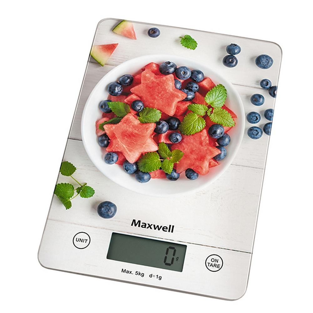 Весы кухонные MAXWELL MW-1478 разноцветный