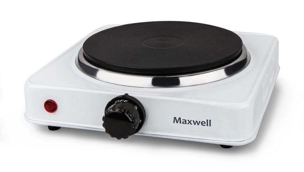 Плитка электрическая MAXWELL MW-1903 белый