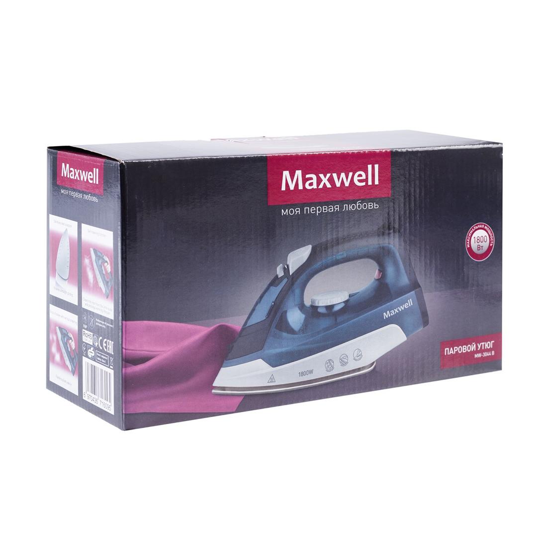 Утюг MAXWELL MW-3044 синий
