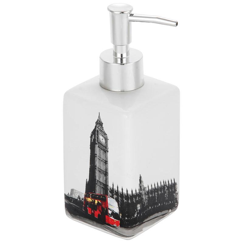 """002904 Дозатор для жидкого мыла """"Лондон"""" DIS-L""""Рыжий кот"""""""
