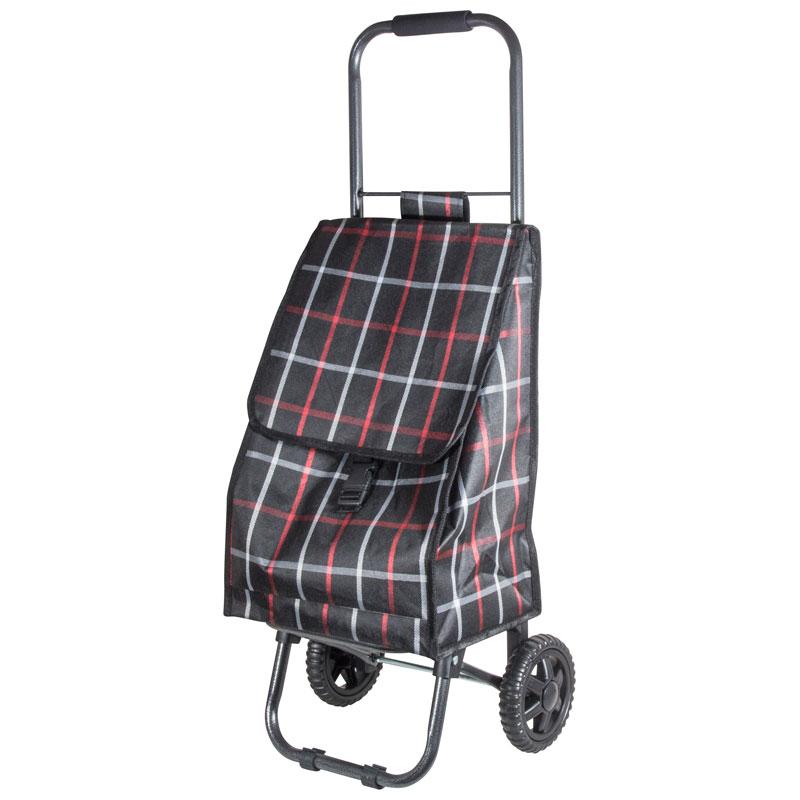 """002251 Тележка с сумкой """"Brown"""" D203ECO """"Рыжий кот"""""""